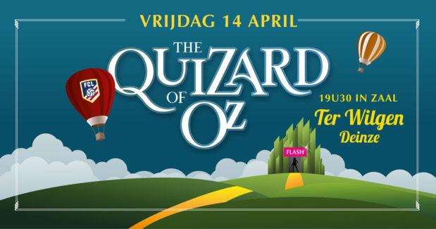 quizard_of_oz_Quiz_Deinze_terwilgen_Affiche
