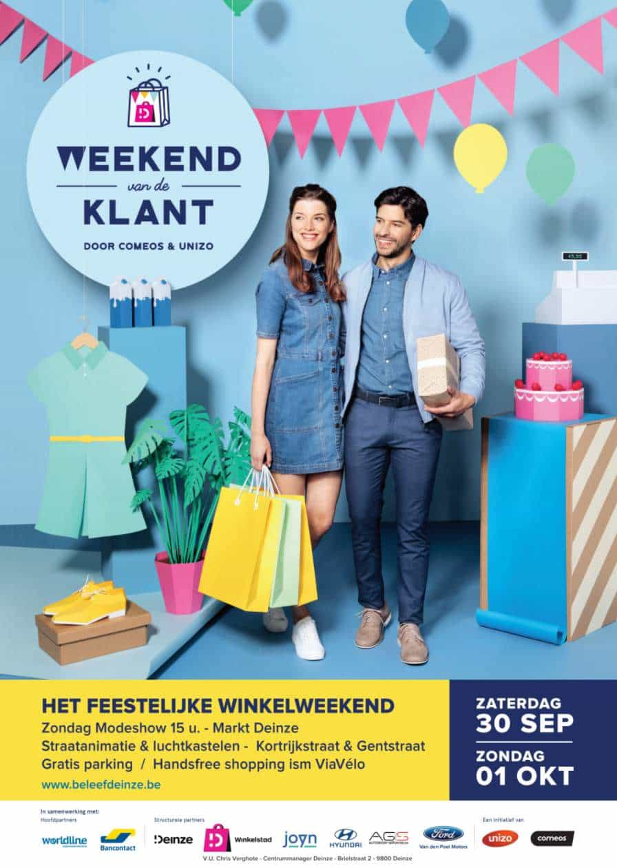 Weekend van de klant op 30 september en 1 oktober